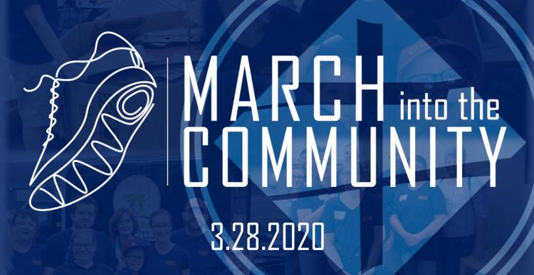 March Into The Community