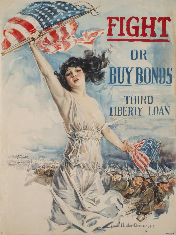 DAILY Exhibition. Patriotic Persuasion: American Posters of the First World War.