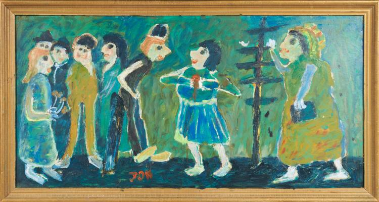 Appraisal Day for 'Outsider Art' at the Bruce Museum