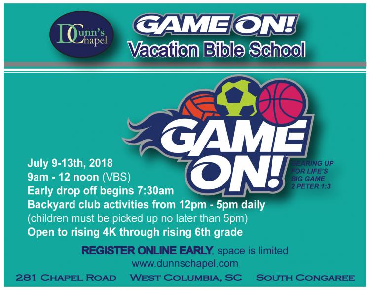 Dunn's Chapel Vacation Bible School