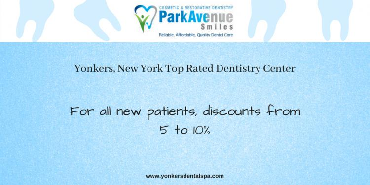 Discount for all new patients from Park Avenue Smiles