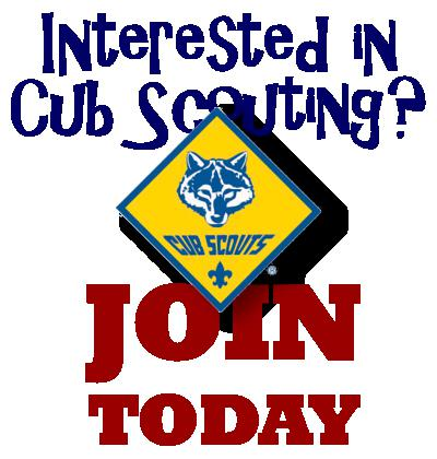 Join Cub Scouts Pack 510