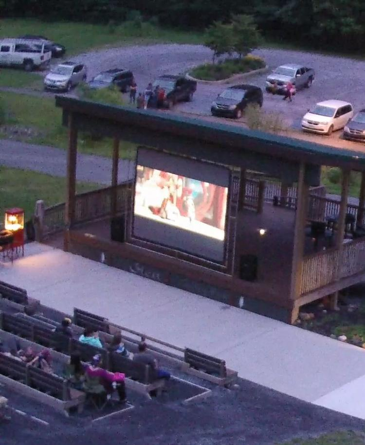 Movie Night at the Glen at Tenley Park