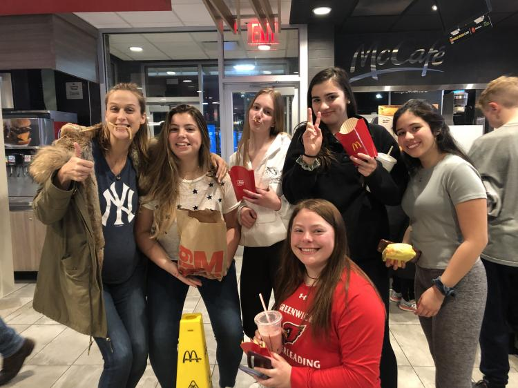 Fall weekend for Greenwich High School students