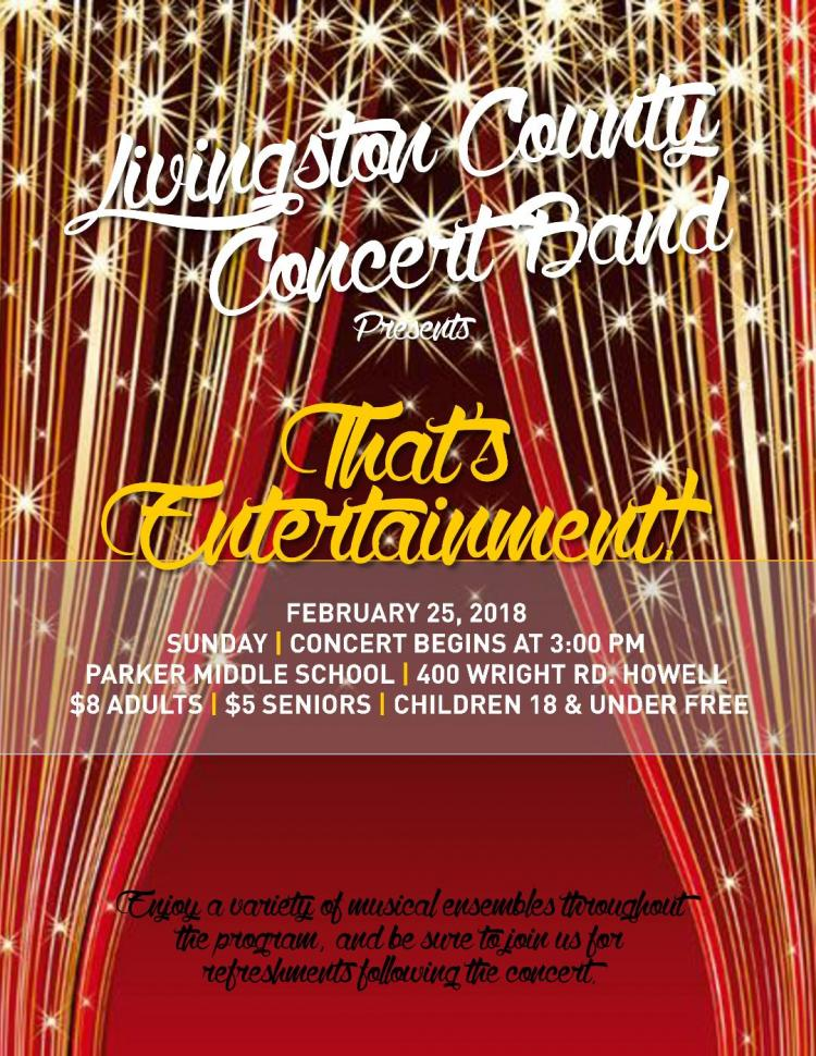 Livingston County Concert Band Presents: