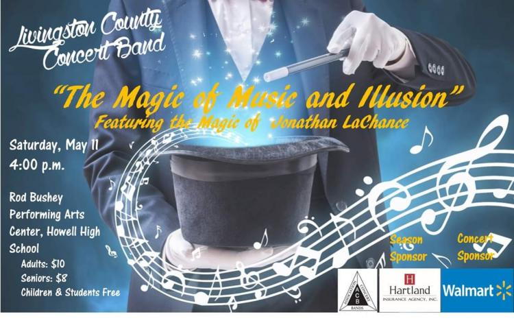 Livingston County Concert Band Presents: The Magic of Music and Illusion