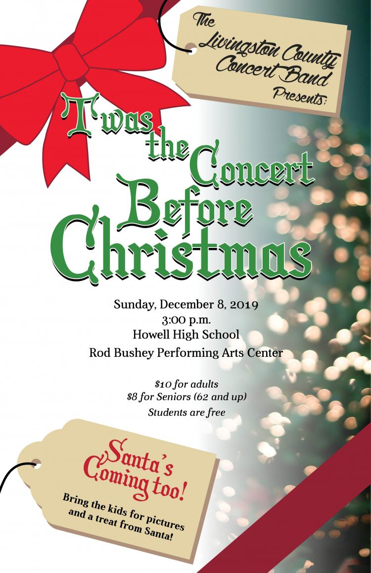 Livingston County Concert Band Holiday Concert