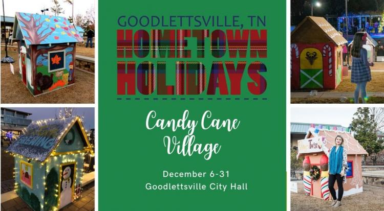 Goodlettsville Tree Lighting and Opening of Candy Cane Village