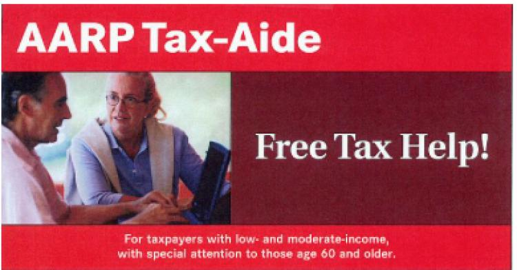 Free Tax Help through AARP's Tax Aide Program