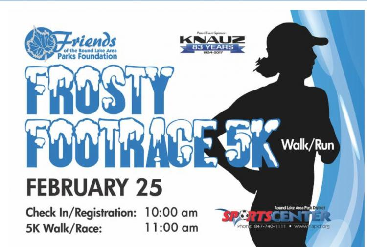 Frosty Foot Race