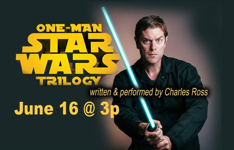 One Man Star Wars - Show at Raue Center