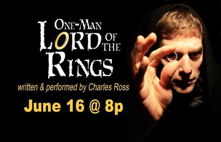 One Man Lord of the Rings - Show at Raue Center
