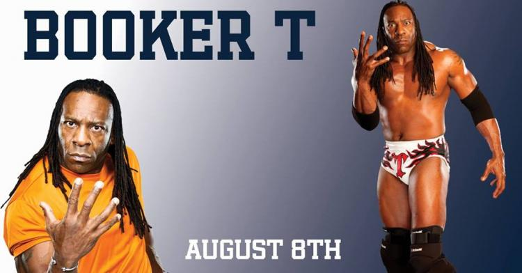 Booker T Appearance