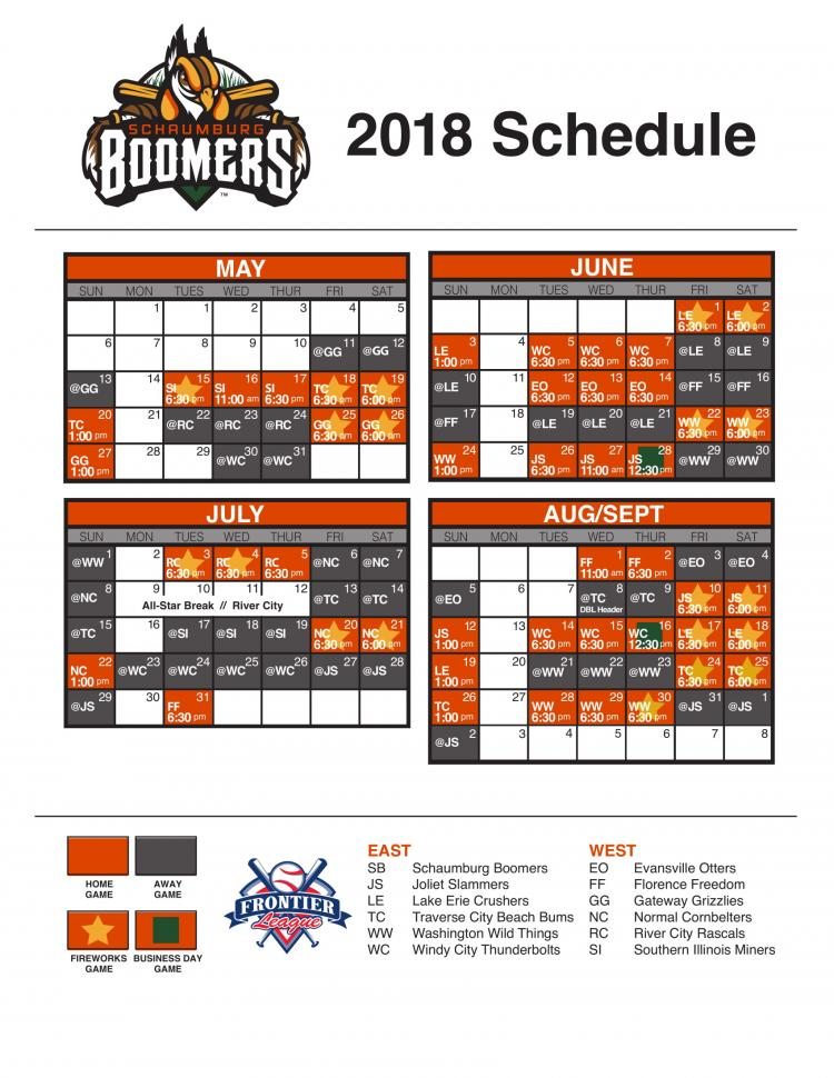 Windy City ThunderBolts @ Schaumburg Boomers