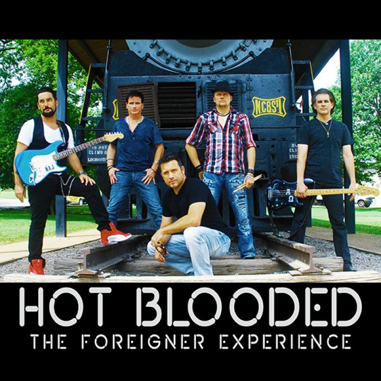 Hot Blooded: The Foreigner Experience @ Raue Center