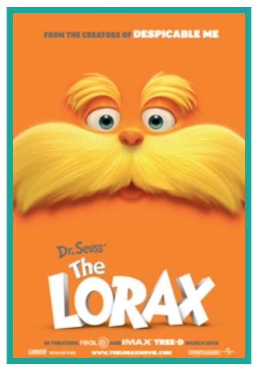 Wednesday Movies - $1 - Today - Dr. Seuss' The Lorax