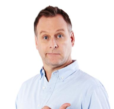 DAVE COULIER at the Raue Center
