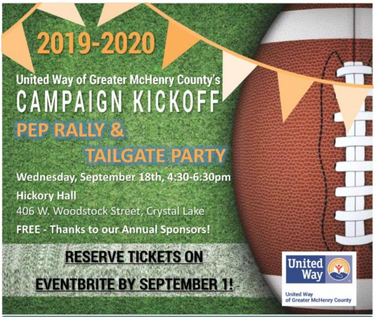 PEP Rally and Tailgate Party_United Way