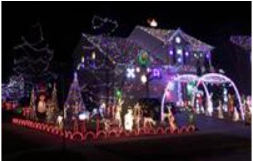 House Decorating Contest DEADLINE at 5pm
