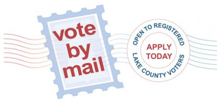 Vote by Mail Applications begin in Lake County