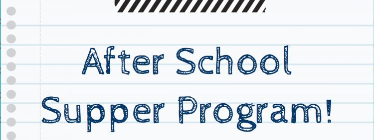 After School Supper Program - McHenry Library