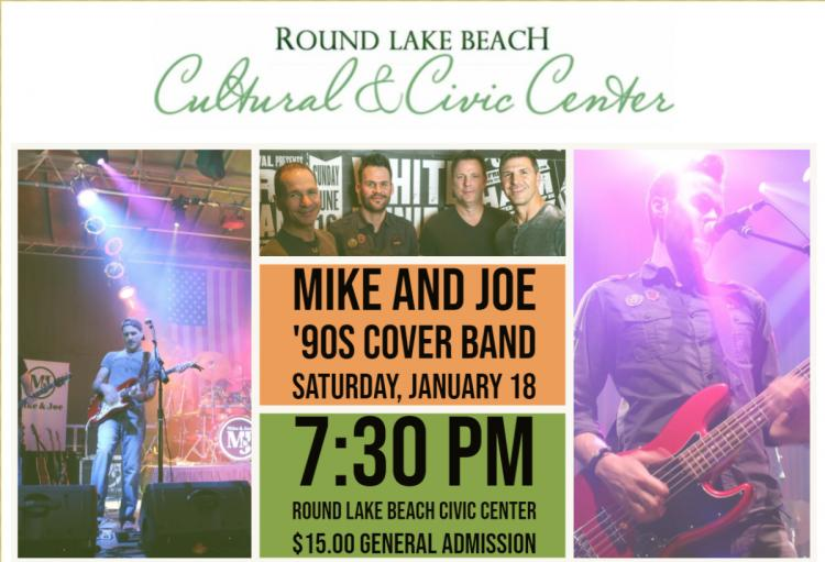 Mike & Joe: 90's Cover Band Concert