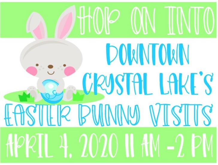 Cancelled - Easter BUNNY Visits  (Crystal Lake)