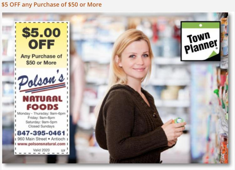 POLSON'S NATURAL FOODS in Antioch Open for Curbside Pick Up!