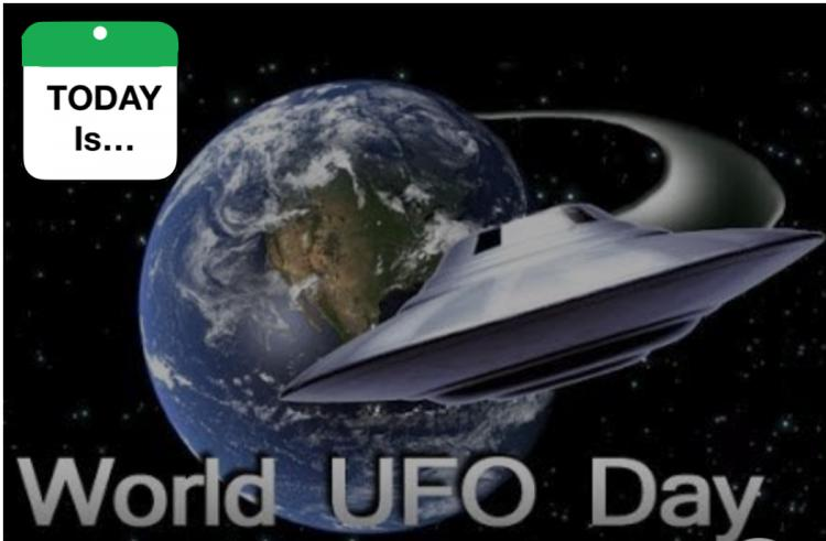 TODAY Is: World UFO Day