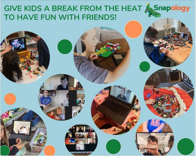 VIRTUAL CAMPS at Snapology McHenry