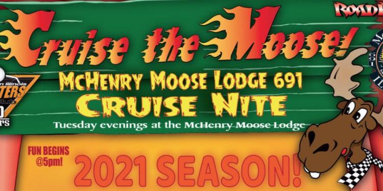 CRUISE THE MOOSE Car Show - Every Tuesday