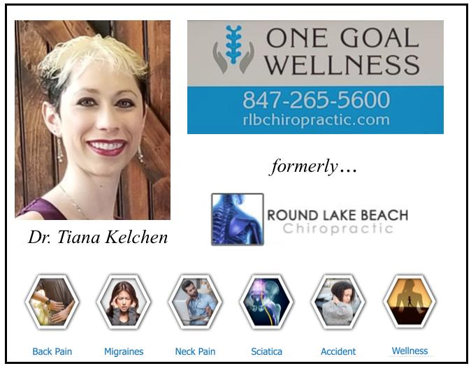 Round Lake Beach Chiropractic is now ONE GOAL WELLNESS