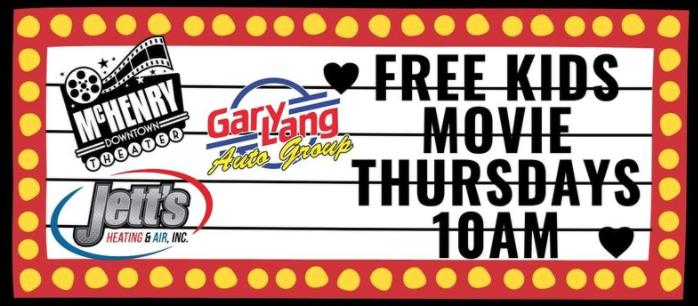 FREE Kids Movies - McHenry Indoor Theater