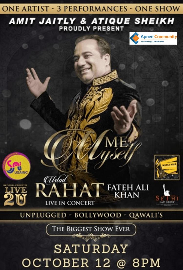 Rahat Fateh Ali Khan Live Concert in New Jersey