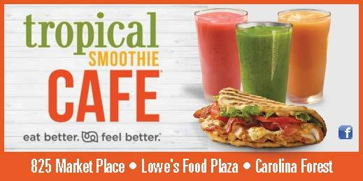 Tropical Smoothie Cafe now open on International Drive
