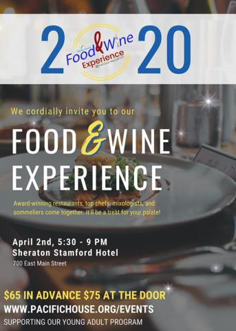 Pacific House Food & Wine Experience