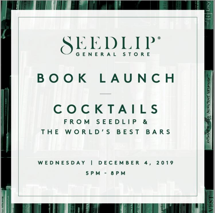 Seedlip General Store Book Launch + Cocktails