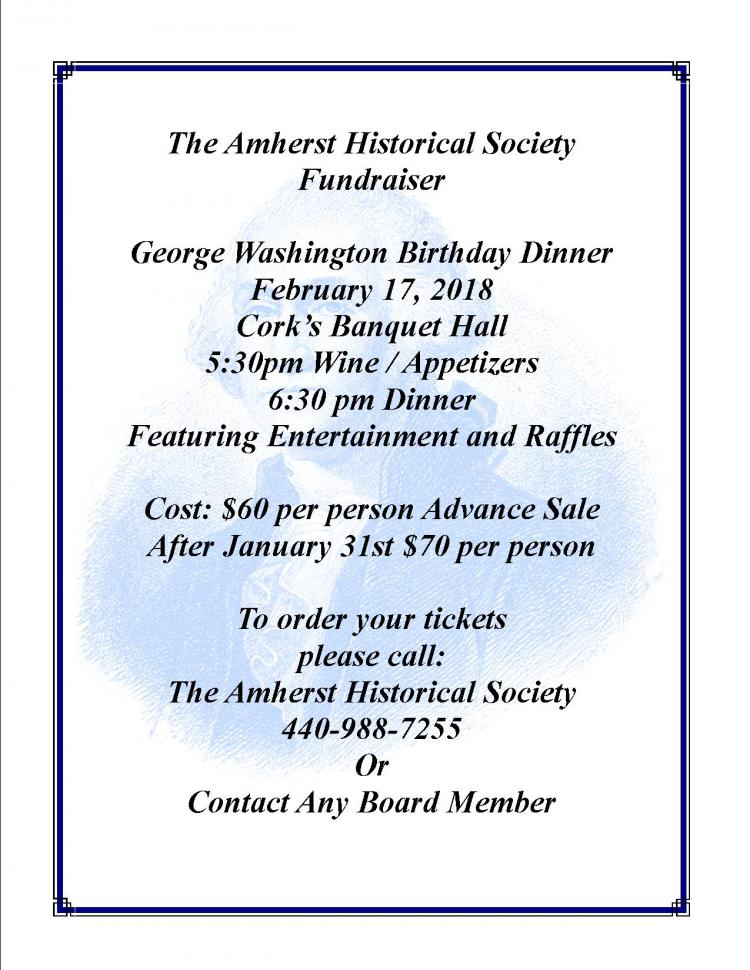 George Washington Birthday Dinner