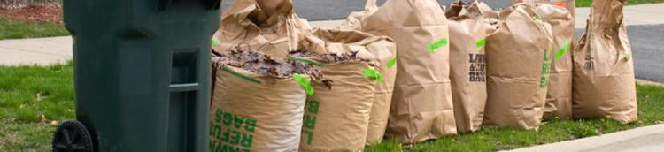 Amherst yard waste collection