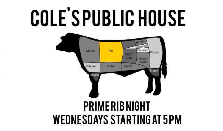 Cole's Public House - Prime Rib Night