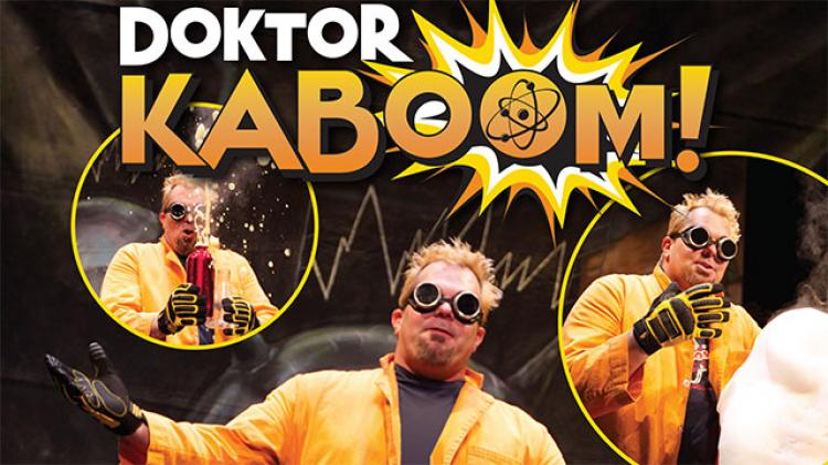 Doktor Kaboom and the Wheel of Science - Student Matinees
