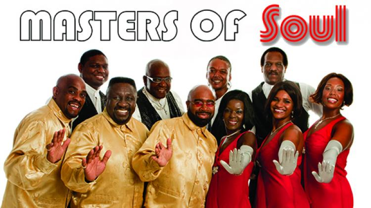 Masters of Soul in concert at LCCC