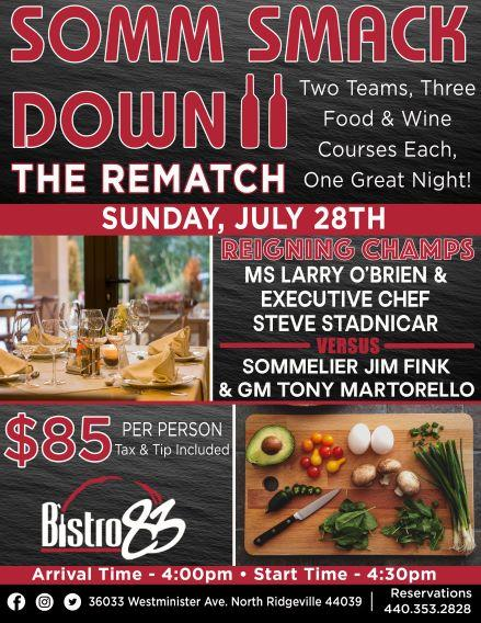 Somm Smack Down 2, The Rematch!