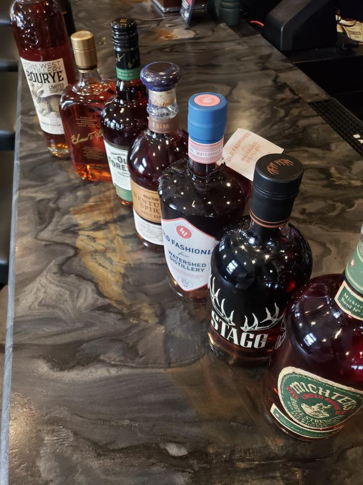 Bourbon-themed Tasting at Bistro 83