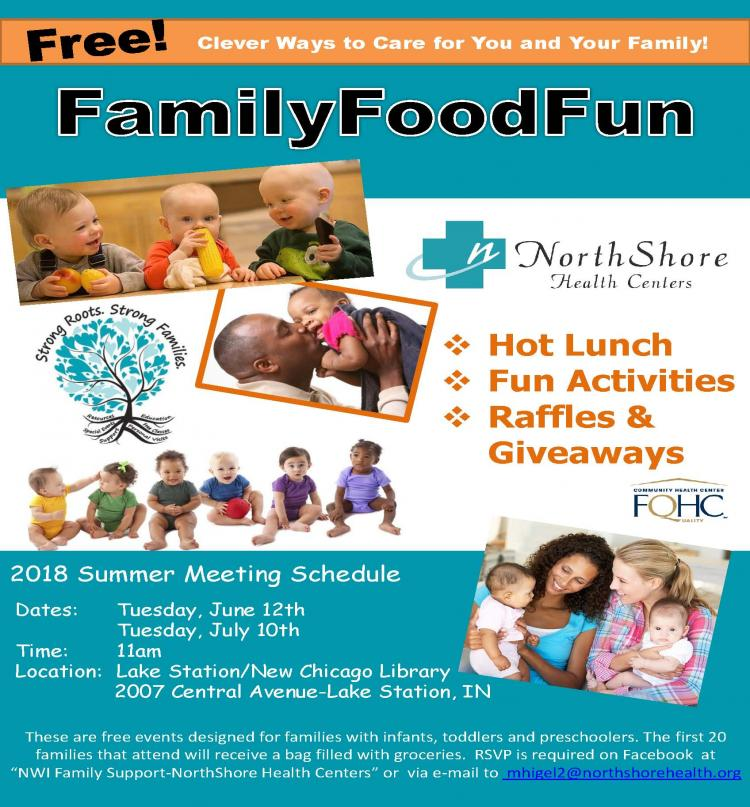 Summer Free Family Food fun