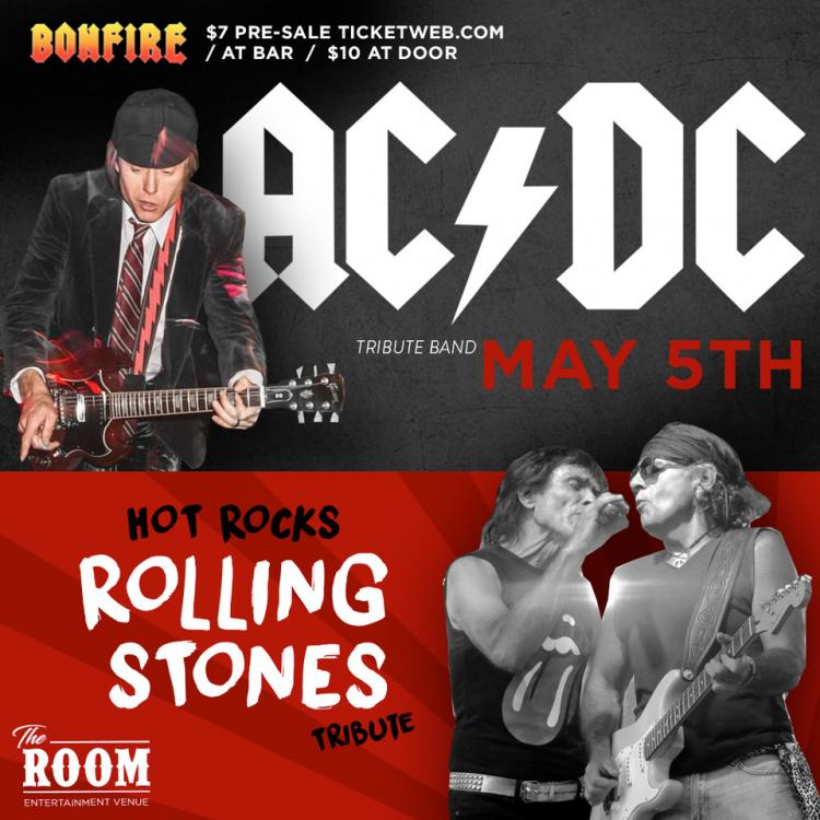 Bonfire- AC DC Tribute Band at the Room