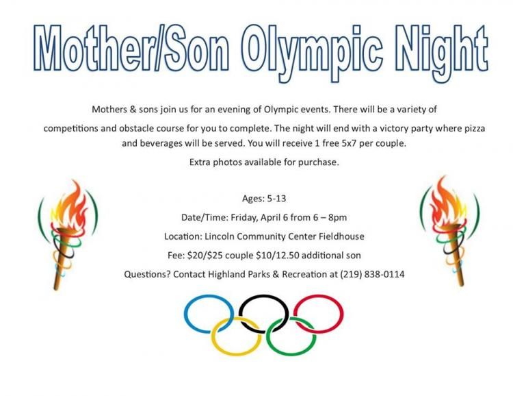 Mother/Son Olympics