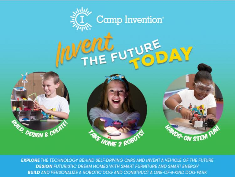 Register For Camp Invention at Liberty Intermediate School