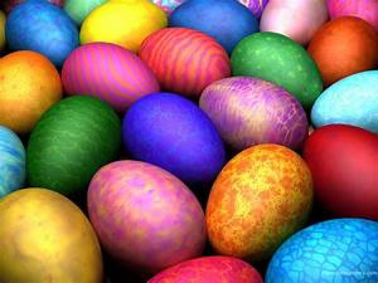 Easter Egg Hunt at First United Methodist Church