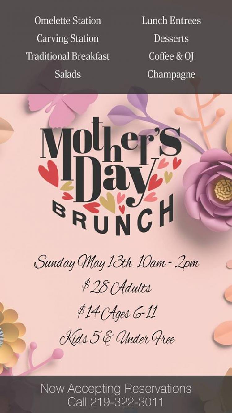 Mother's Day Brunch at Villa Cesare